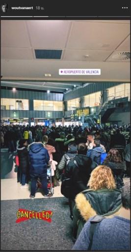 Wout van Aert zat tijdelijk vast in Spanje: pendelen was de enige oplossing