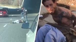 Schrijnende beelden: ex-NBA-speler op de dool wordt in elkaar geslagen op straat en slaat nadien wartaal uit