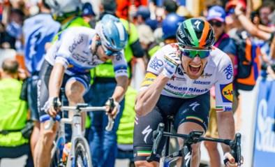 Eerste koers, eerste zege voor Deceuninck - Quick-Step: Sam Bennet sprint het snelste in Tour Down Under (voor Jasper Philipsen)