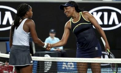 15-jarige Coco Gauff wint opnieuw de clash der generaties: 39-jarige Venus Williams uit Australian Open