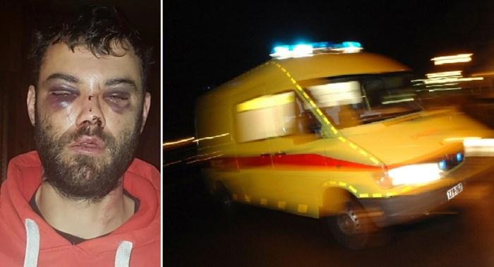 """Niels (32) zwaar toegetakeld tijdens verjaardagsfeest in loungebar: """"Bont en blauw geslagen met kandelaar"""""""