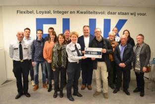 Flikken van zone Assenede-Evergem zamelen 5.000 euro in voor Fonds Emilie Leus