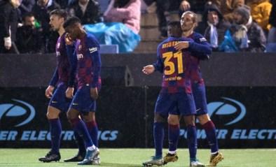 De bekerdroom van Ibiza spat uit elkaar in de 94ste minuut: Griezmann redt armtierig Barcelona in de slotseconde