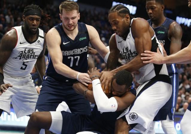 LA Clippers pakken volle buit in Dallas