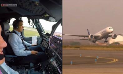 Airbus stijgt automatisch op, maar spanning in cockpit is te snijden