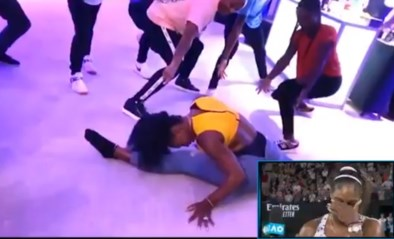 """Serena Williams schaamt zich voor dansje met 15-jarige Coco Gauff: """"Oh nee, ga je het einde ook tonen...?"""""""