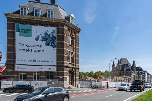 Voormalige legerkazerne in Gent krijgt groendak van meer dan 1.000 vierkante meter