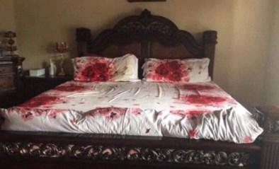 Man verrast vrouw met romantisch gebaar, maar lijkt wel dubbele moord gepleegd te hebben