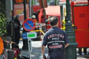 Acht personen naar ziekenhuis na brand in Brussel