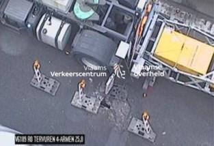 Wegverzakking aan Vierarmentunnel: hele dag hinder op Brusselse ring verwacht