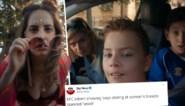 """Fastfoodketen verontschuldigt zich na kritiek op """"seksistische"""" reclame waarin jongens naar borsten staren"""