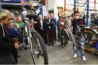 Kwetsbare Ninovieters leren fietsen (te herstellen)