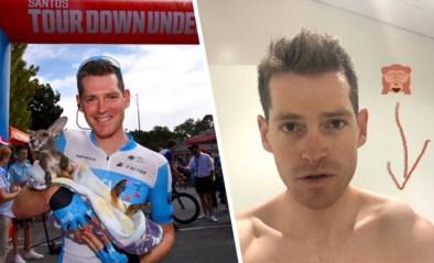 """Ben Hermans twee maanden out na complexe schouderbreuk in Tour Down Under: """"Dit is vrij pijnlijk"""""""
