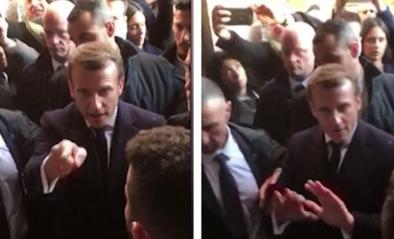 """Macron verliest geduld tijdens bezoek aan Jeruzalem: """"Ga weg! Buiten!"""""""