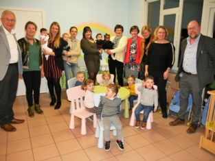 De Kleine Vincent vangt 34 kinderen op