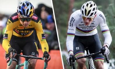 """Wout van Aert versus Mathieu van der Poel in Zonnebeke: """"Ideale test voor WK"""""""
