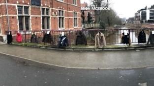 VIDEO. Daarom hangt brug in Aarschot vol jassen:
