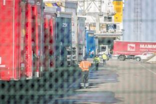 Koelwagen met 23 transmigranten onderschept in transportzone van haven Zeebrugge
