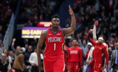 Fenomeen Zion Williamson schittert bij debuut in de NBA maar Pelicans kunnen niet winnen