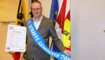 De man van de Feestgemeente wordt nu officieel ereburgemeester