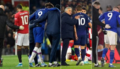 Vier topspitsen uit de Premier League geblesseerd sinds Nieuwjaar: toeval is het zeker niet, maar wie doet er wat aan?