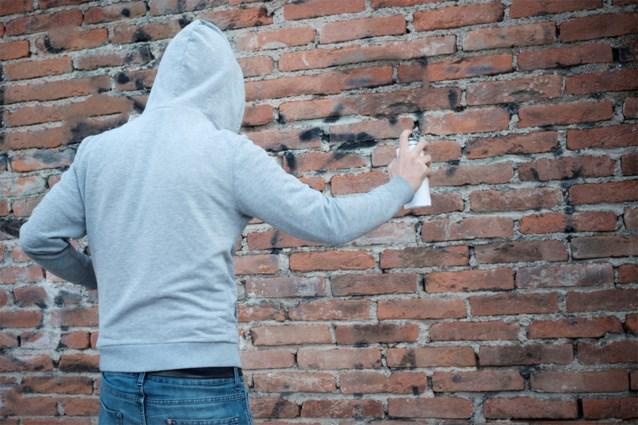 Tagger afgeranseld en poedelnaakt gedropt omdat hij huis had beklad