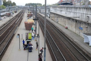 Kortsluiting legt treinverkeer in Halle stil