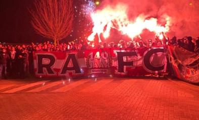 Vuurwerk, spandoeken en luidkeelse gezangen: fans van Antwerp dromen al van bekerfinale