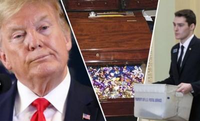 Berichtjes moeten via loopjongens, melk moet van thuis komen en enkel snoepen uit één lade: zo bizar zijn regels tijdens impeachment Trump