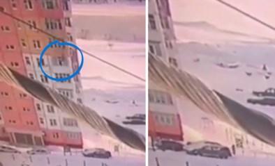 Vrouw valt negen verdiepingen naar beneden en… wandelt gewoon verder