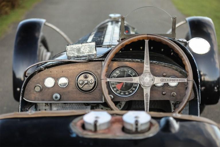 """Winst op Grand Prix in 1934 en sindsdien """"onveranderd"""": Bugatti van koning Leopold III onder de hamer"""