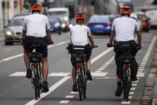 Bikers van Brusselse politie schreven vorig jaar bijna 85.000 pv's uit