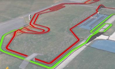 Zo ziet het parcours van het WK veldrijden eruit: biljartvlak met kunstmatige hindernissen