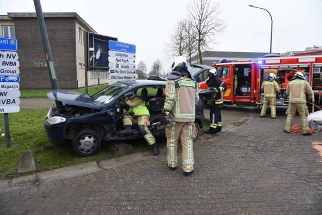 Ongeval omdat bestuurder voorrang van rechts negeert