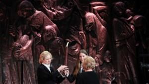 Wereldleiders herkenden 75ste verjaardag van bevrijding concentratiekamp van Auschwitz