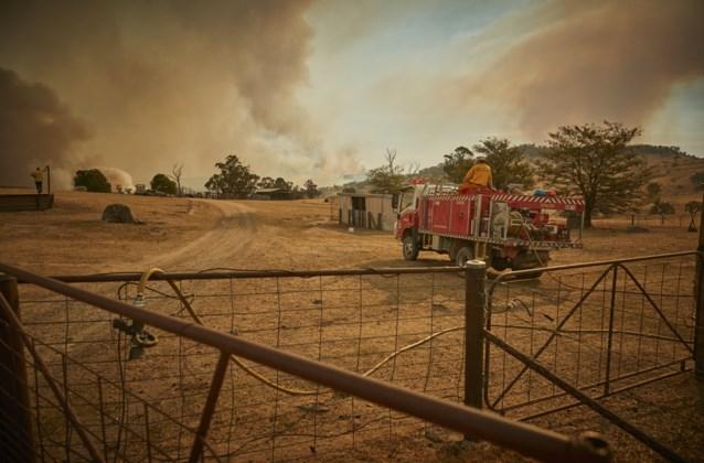 Bosbranden Australië: Zes brandweermannen zwaargewond