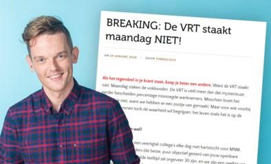 MNM-dj Tom De Cock valt stakende VRT-vakbonden aan: