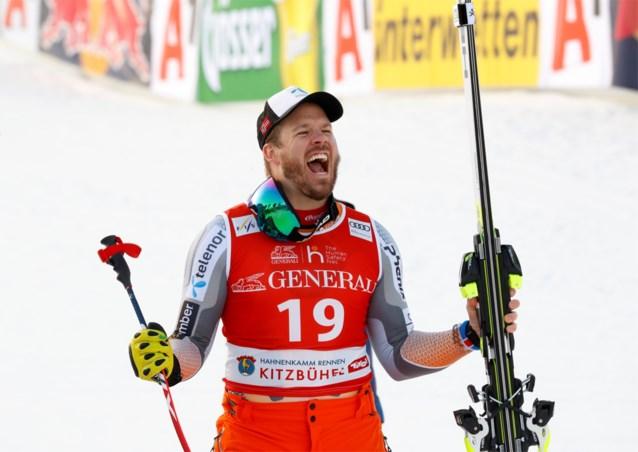 Kjetil Jansrud wint Super-G in Kitzbühel