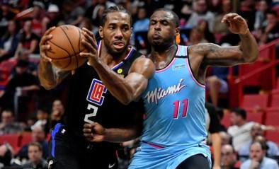 Leonard leidt Clippers naar zege in NBA, Milwaukee klopt Charlotte in Parijs