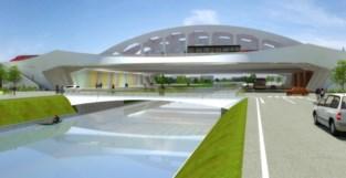 Nieuwe brug voor bussen, fietsers en voetgangers vervangt Postzegelviaduct
