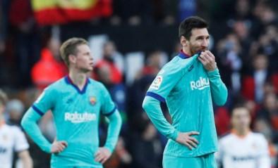 Barcelona gaat kopje onder bij Valencia: nieuwe coach Quique Setién verliest al in derde match