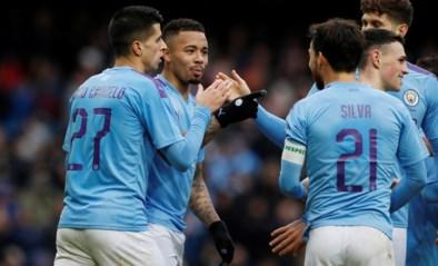 Manchester City rekent in FA Cup makkelijk af met Fulham en Denis Odoi, Manchester United maakt gehakt van derdeklasser