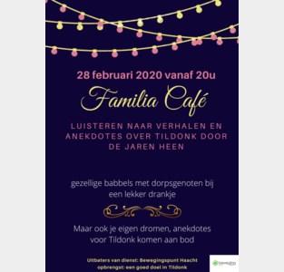 Familia Café grijpt terug naar geschiedenis van Tildonk