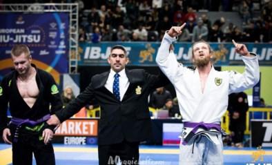 Maarten Bauwens verovert Europese titel in meest prestigieuze jiujitsu-federatie