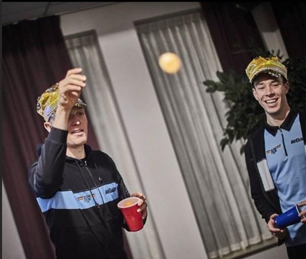 Ministage en teambuilding voor Belgische veldrijders: Van Aert en co tonen zich van hun andere zijde