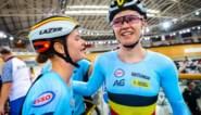 WB baanwielrennen Milton: zilver in de ploegkoers bij terugkeer voor duo D'hoore-Kopecky