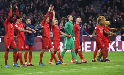 Bayern München vernedert Schalke 04 en nadert tot op één punt van leider RB Leipzig