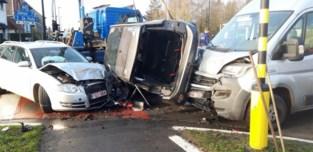 Bizar ongeval op Kortrijksesteenweg