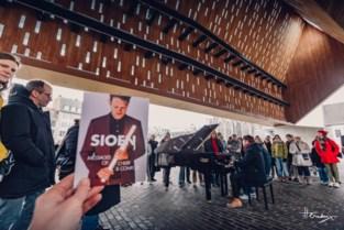 Sioen laat Gent proeven van nieuwe plaat onder stadshal