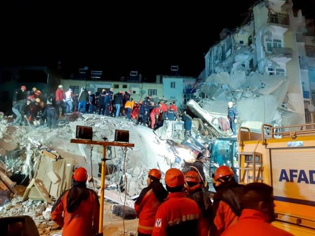 Dodental na aardbeving in Turkije stijgt naar 35, meer dan 1.600 gewonden